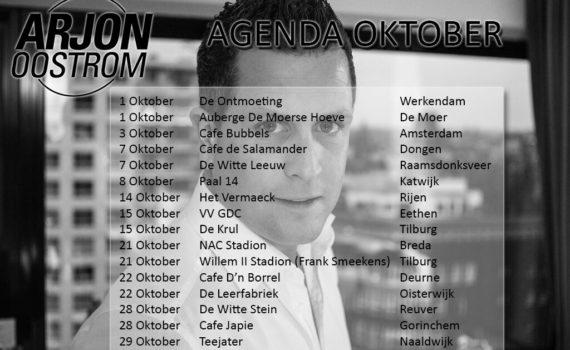 Agenda oktober 2016